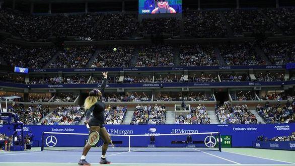 Us Open. Novak Djokovic y Serena Williams se exhiben en su debut