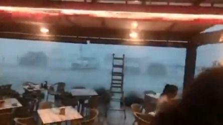 Las lluvias torrenciales también se ceban con Baleares