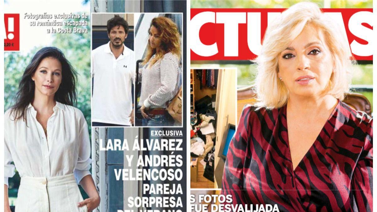 El robo en la casa de Carmen Borrego y la pareja del verano: Lara Álvarez y Velencoso