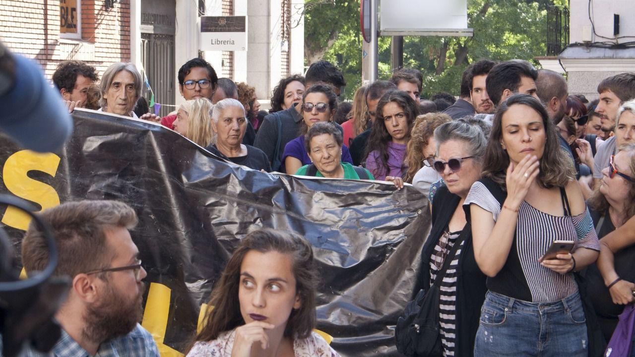 La Ingobernable resiste pese a la notificación de desalojo del Ayuntamiento