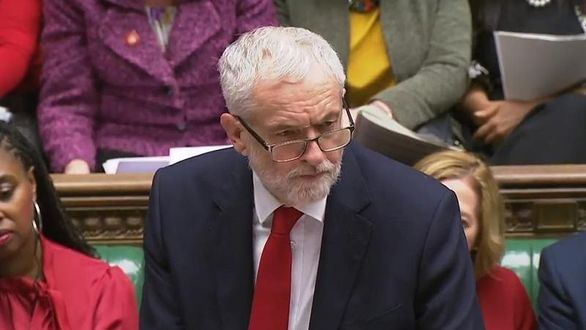 Jeremy Corbyn a Isabel II: suspender el Parlamento no es