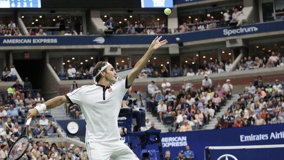 US Open. Roger Federer gana y Novak Djokovic se limita a sobrevivir