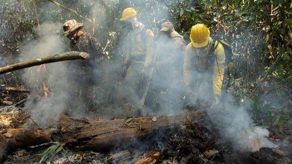La Policía identifica a tres sospechosos de causar los incendios en la Amazonía