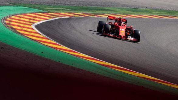 Gran Premio de Bélgica. Ferrari domina y Charles Leclerc se hace con la 'pole'