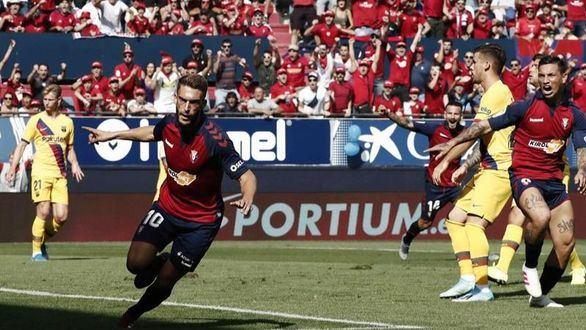 Ni Ansu Fati sacó al Barcelona del lío en Pamplona | 2-2
