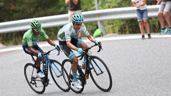 La Vuelta. Caos épico en Andorra, liderato para Quintana y triunfo de Pogacar