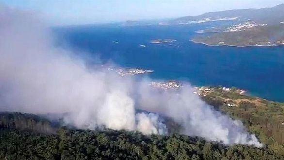 Más de 500 hectáreas quemadas en Galicia en dos días de incendios