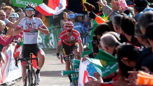 La Vuelta. Pogacar se corona y Primoz Roglic pastorea a Movistar y Astana