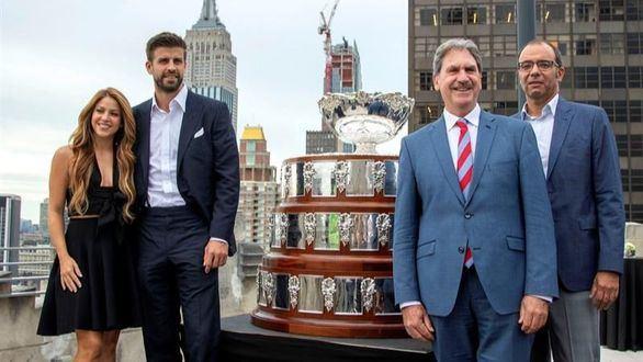 Piqué vende su Copa Davis en Nueva York: