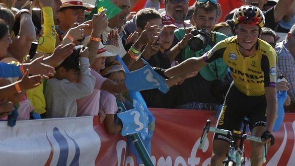 La Vuelta. Sepp Kuss vence en El Acebo y Roglic da otro zarpazo
