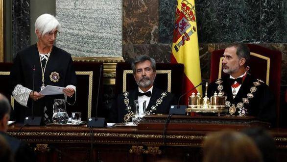 El presidente del CGPJ y la fiscal general del Estado exigen acatar la sentencia del 1-O