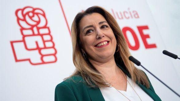 Susana Díaz anuncia que está embarazada de cuatro meses y será una niña