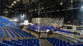 El Cirque du Soleil ultima el montaje del espectáculo sobre Messi en el Fòrum de Barcelona