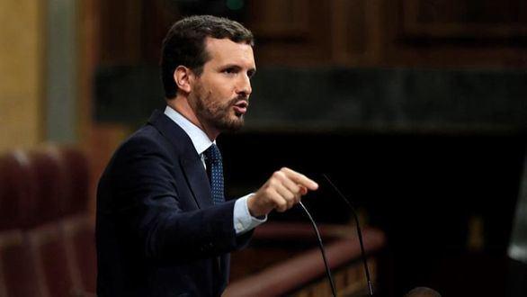 Casado: 'España no merece elecciones ni un presidente como Sánchez'