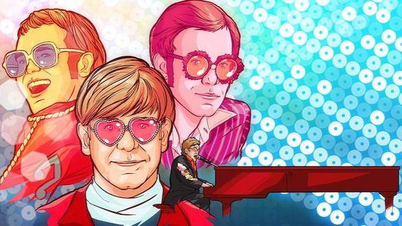 Llega a la Gran Vía de Madrid el homenaje a Elton John