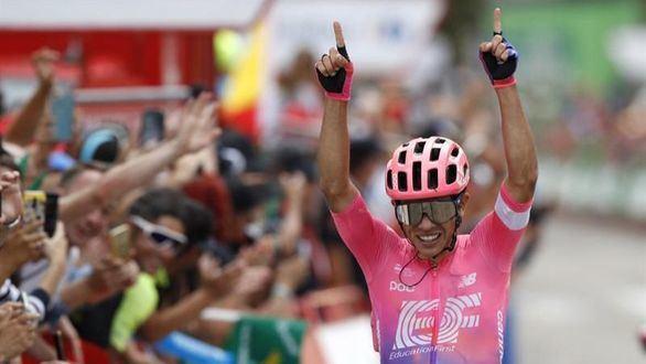 La Vuelta. Higuita toca la gloria en Cotos y Nairo Quintana vuelve a su realidad
