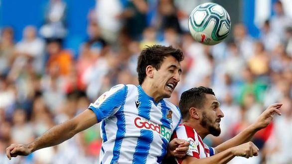 La Real Sociedad fabrica la primera derrota del Atlético de Joao Félix   2-0