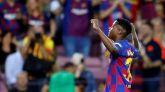 Ansu Fati propulsa al Barcelona ante un Valencia en estado de shock | 5-2