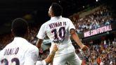 Neymar vuelve a jugar con el PSG y prende un huracán en su estadio