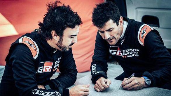 Dakar 2020. Fernando Alonso sigue su preparación volcando en la Lichtenburg 400
