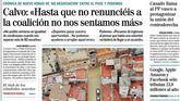 Las portadas de los periódicos del domingo 15 de septiembre