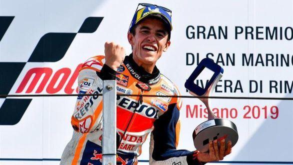 GP San Marino. Marc Márquez gana y acelera hacia su sexto Mundial en MotoGP