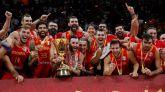 La selección española de baloncesto, de oro