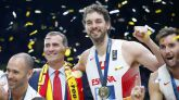 España se vuelca con el oro de la selección de baloncesto