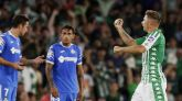 El Getafe se queda sin su primera victoria por obra del Betis | 1-1