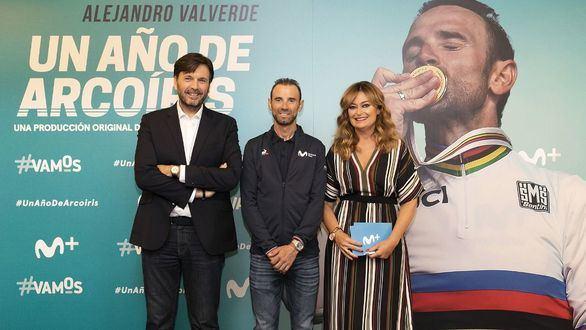 'Alejandro Valverde: Un año de arcoíris' muestra el lado más humano del ciclista