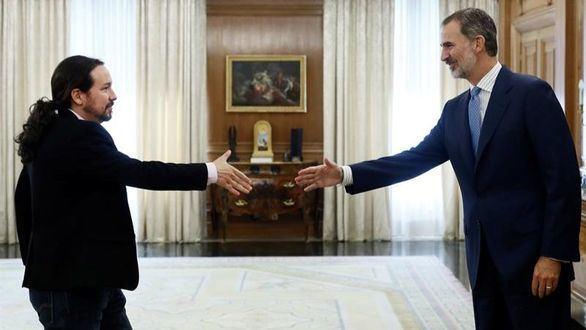 Ronda de consultas | Garzón evita comunicar al Rey el sentido del voto de IU
