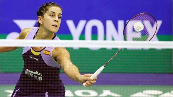 Primera victoria de Carolina Marín tras su grave lesión