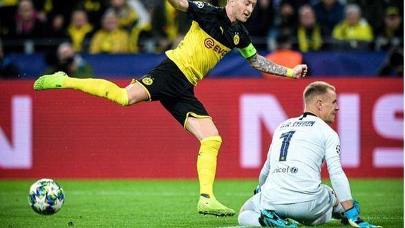 Ter Stegen salva a un Barcelona gris ante un enérgico Dortmund |0-0