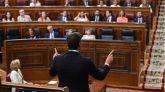 Sánchez aprovecha la sesión de control para hacer campaña e insultar a toda la oposición