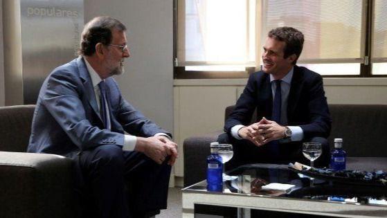 Casado come con Rajoy para preparar las elecciones del 10N