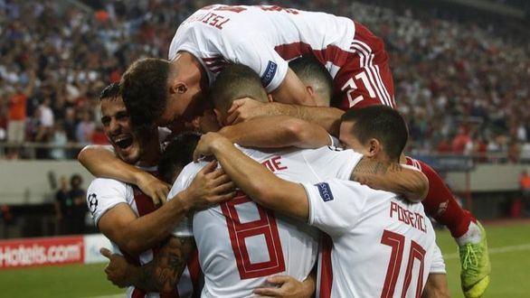 El Olympiacos remonta para empatar al subcampeón Tottenham |2-2