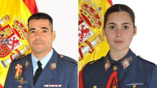 Fallecen un instructor del Ejército del Aire y su alumna en un accidente de avioneta
