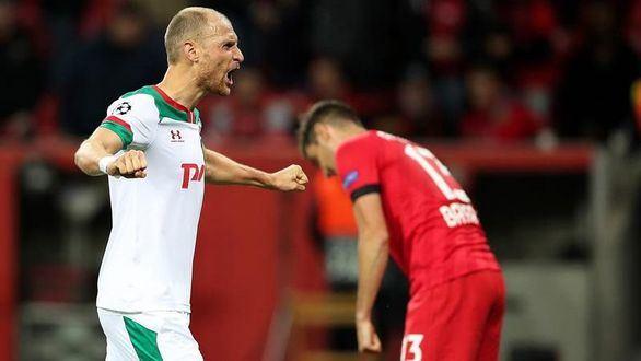 El Lokomotiv sorprende al Bayer |1-2