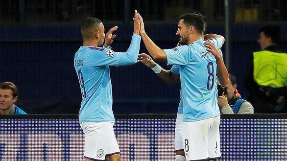 El City golea al ritmo de Gundogan  0-3