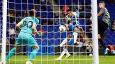Europa League. El Espanyol empieza tropezando en casa ante el Ferencvaros | 1-1