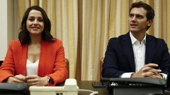 Inés Arrimadas y Albert Rivera.