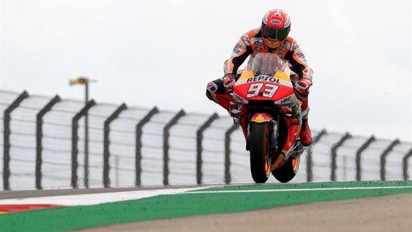 Moto GP. Márquez suma y sigue con su novena pole de la temporada