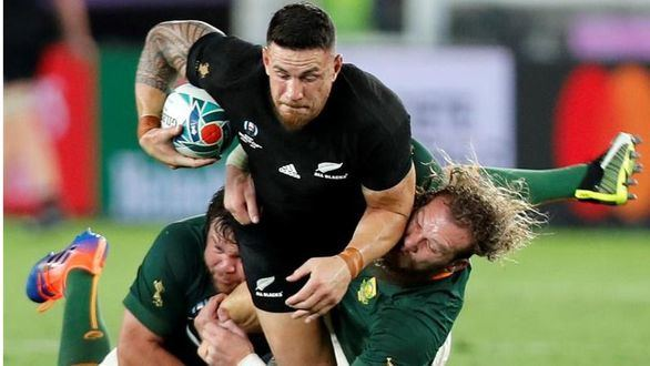 Mundial de rugby. Nueva Zelanda supera con éxito su debut ante Sudáfrica |23-13