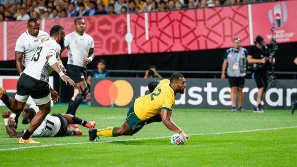 Mundial de rugby. Australia arranca con paso firme ante Fiyi |39-21