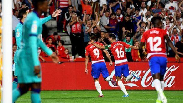 El Granada maniata al Barcelona en Los Cármenes |2-0