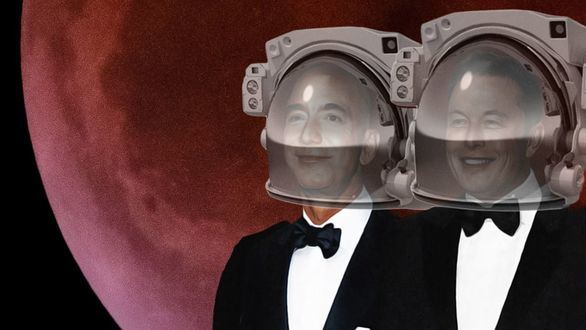 Musk y Bezos,