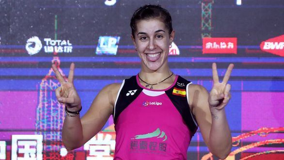 Carolina Marín conquista el Abierto de China tras ocho meses de lesión
