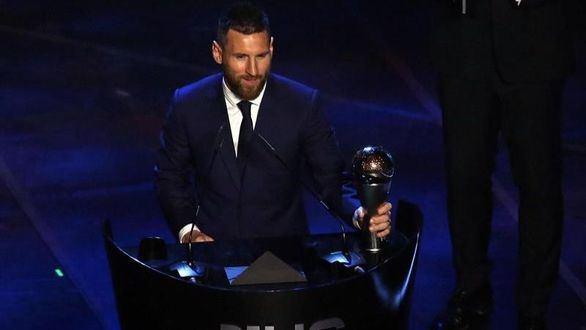 Leo Messi gana el premio The Best al mejor jugador de la FIFA