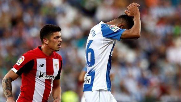 El Leganés evita el pánico en Butarque con un empate ante el Athletic |1-1