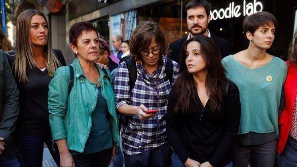 ERC, JxCat, CUP y Bildu apoyan en la Audiencia Nacional a los CDR detenidos